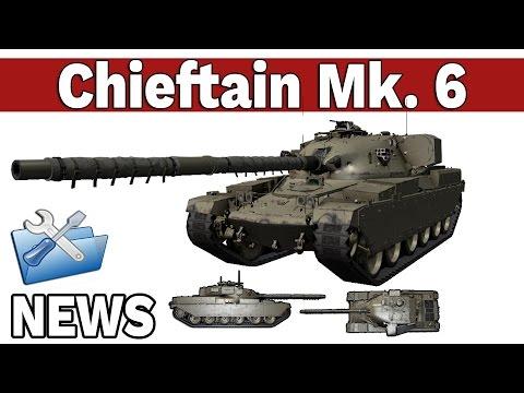 Chieftain Mk. 6 i Test publiczny wersji 9.14 - News - World of Tanks