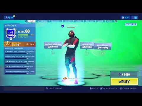 Fortnite Live Playing With Subs! // *Gifting Skins* // New Acc //  Use Code CodeImWillie