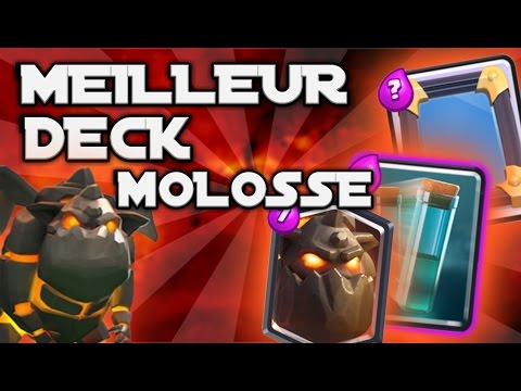 Meilleur deck molosse de lave clash royale fr youtube for Clash royale deck molosse