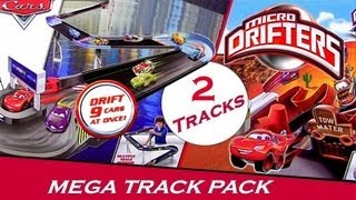 Cars 2 Design Drift Speedway Track Micro Drifters Radiator Springs Drift Challenge Playset Disney