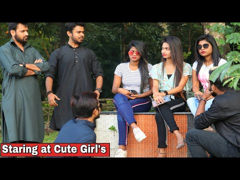 Gangster Staring At Girl's Prank - Epic Reactions - Prank In Kolkata 2020- By TCI - 동영상