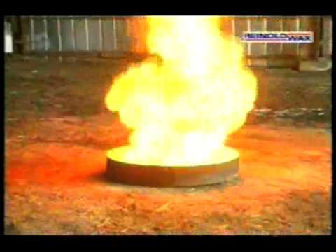 Flammable Liquid Fires  Pyrocool  YouTube