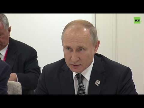 Путин пообщался с лидерами Турции, Южной Кореи и Саудовской Аравии на саммите G20