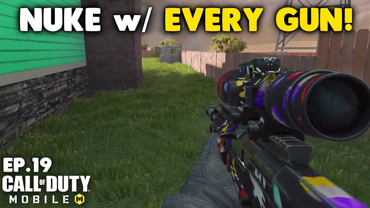 Nuke with Every Gun in Call of Duty Mobile! - Arctic.50 Sniper thumbnail