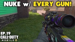 Nuke with Every Gun in Call of Duty Mobile! - Arctic.50 Sniper