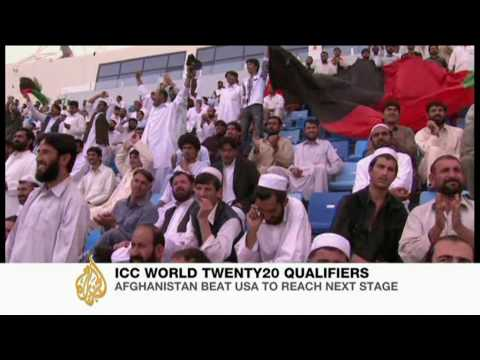 Afghanistan cricketers take on United States - AJE Sport