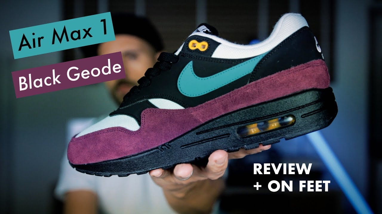 on sale 560c2 723c0 Nike Air Max 1 black geode - Review et on feet ! Un parfum d ACG 👀