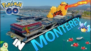 What is Pokemon Go Like in Monterey, California? (Generation 2)