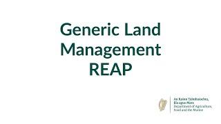 Generic Land Management REAP -…