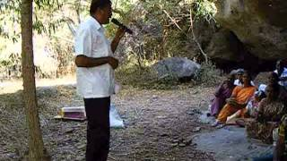 Video-Part 2 of 4-  Ahimsa walk  to Neganurpatti Jaina cave