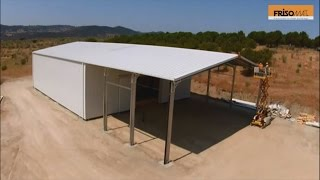 Frisomat Prefabricated Industrial Building In Spain