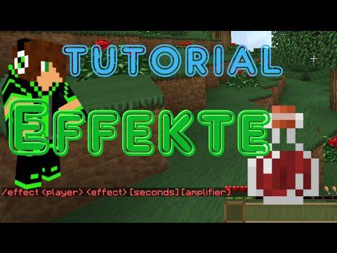 Minecraft Effekte Tutorial Effect GermanHD YouTube - Minecraft spielerkopfe erstellen