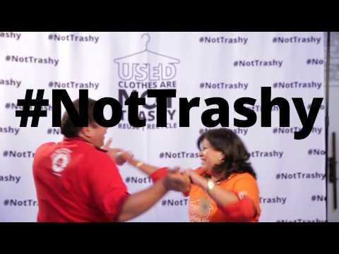 """Used Clothes are #NotTrashy -- Pharrell """"Happy"""" Official Recycling Parody"""