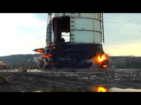 Tanner's Creek Generating Station Steel Stacks  Controlled Demolition, Inc