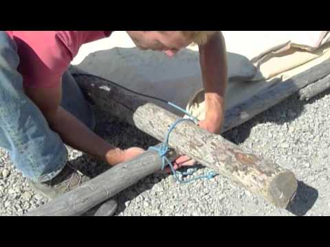 & How to Set-up a Prospector Tent.m4v - YouTube