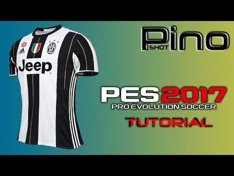 pretty nice 41526 627d0 Edit Juventus FC Home Kit - PES 2017 Tutorial