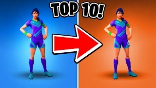 10 Fortnite Skins That Should Be a Different Rarity! (Fortnite Skins Ranked)