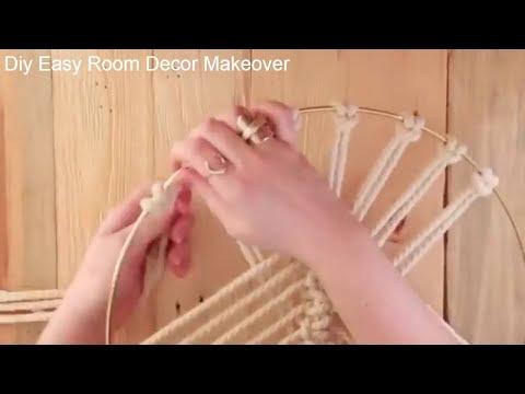 Handicraft DECORATING IDEAS and HOMEMADE DIY ROOM DECOR MAKEOVER