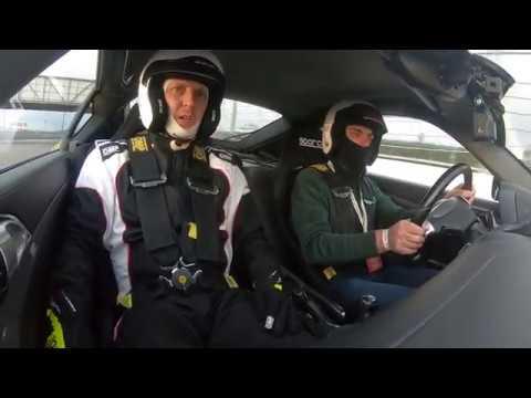 Круг по Сочи Автодрому на Porsche мастер-класс (вид в салоне) / Lap Of The Track Sochi Autodrome