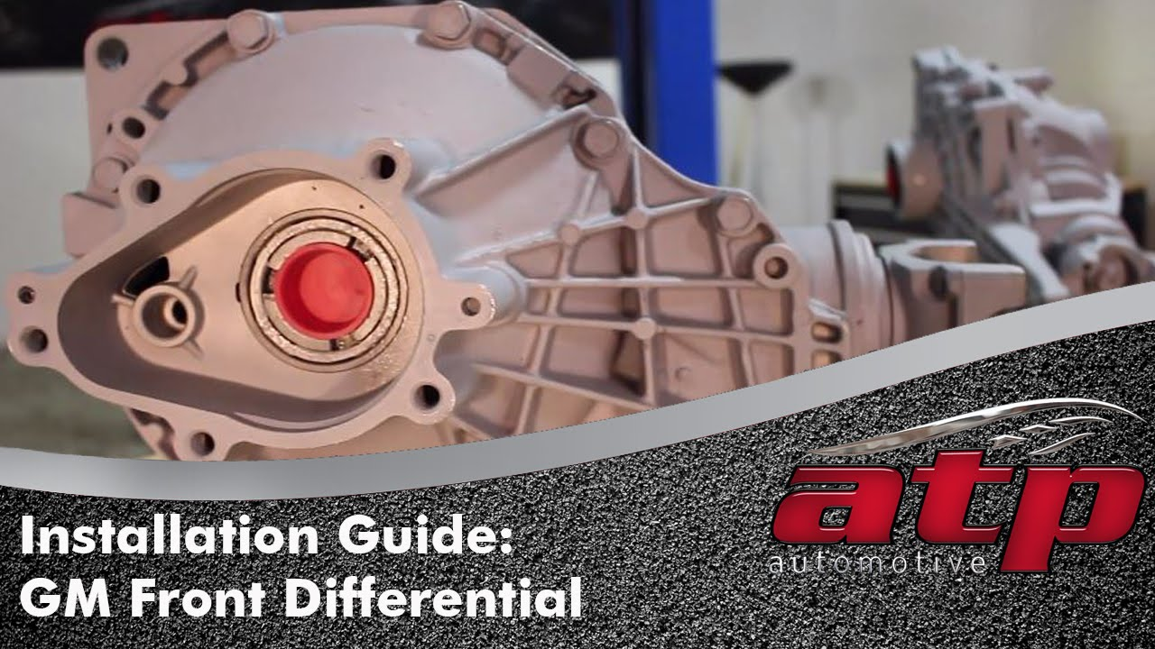 How to Remove and Install a Front Differential on GM Truck or SUV  YouTube