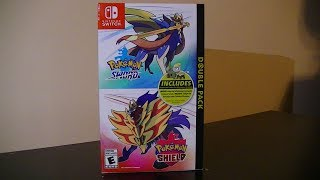 Pokemon Sword and Shield Double Pack - Midnight Launch Unboxing!!