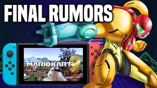 E3 Nintendo Direct FINAL Rumors And Predictions!