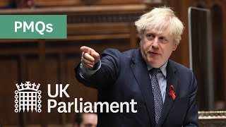 Prime Minister's Questions with British Sign Language (BSL) - 2nd December 2020