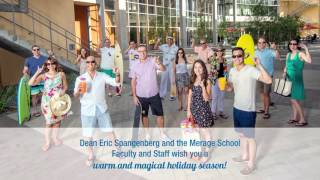 Holiday Greetings from UCI Paul Merage School of Business