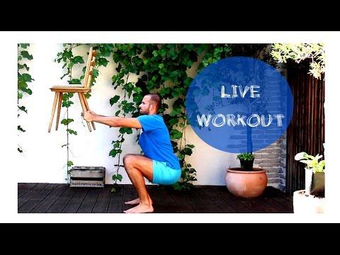 12 min Live Workout für Zuhause - Ganzkörper Training - Fett verbrennen - Straffer Körper