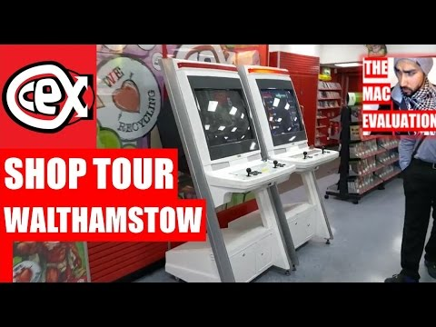 CEX Shop Tour Walthamstow (East London)