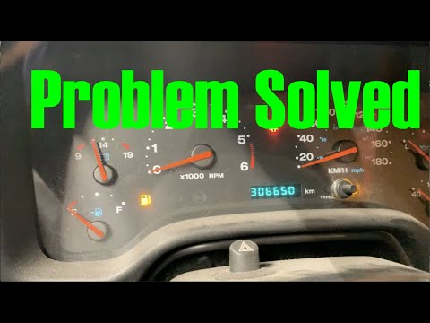 Jeep TJ No Gauges Solved