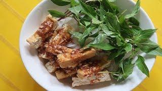 Làm bún tươi bằng bột gạo và bột tàn mì ăn với đậu phụ mắm tôm - Cuộc sống quanh ta: Số 650.