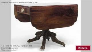 American Antique End Table Federal Tables For Sale