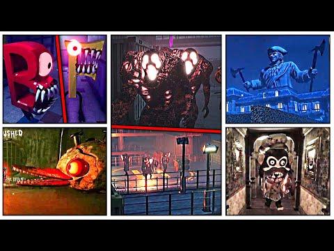 ALL 5 BOSSES GAMEPLAY   Dark Deception Monsters U0026 Mortals All Bosses NEW Update Gameplay (Part 4)