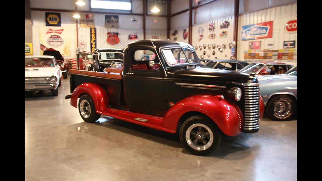 Sold 1939 Chevrolet Pickup For Sale Passing Lane Motors Classic Cars Youtube