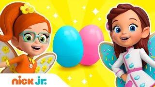 Open Surprise Eggs w/ Butterbean & Friends 🍳 N...