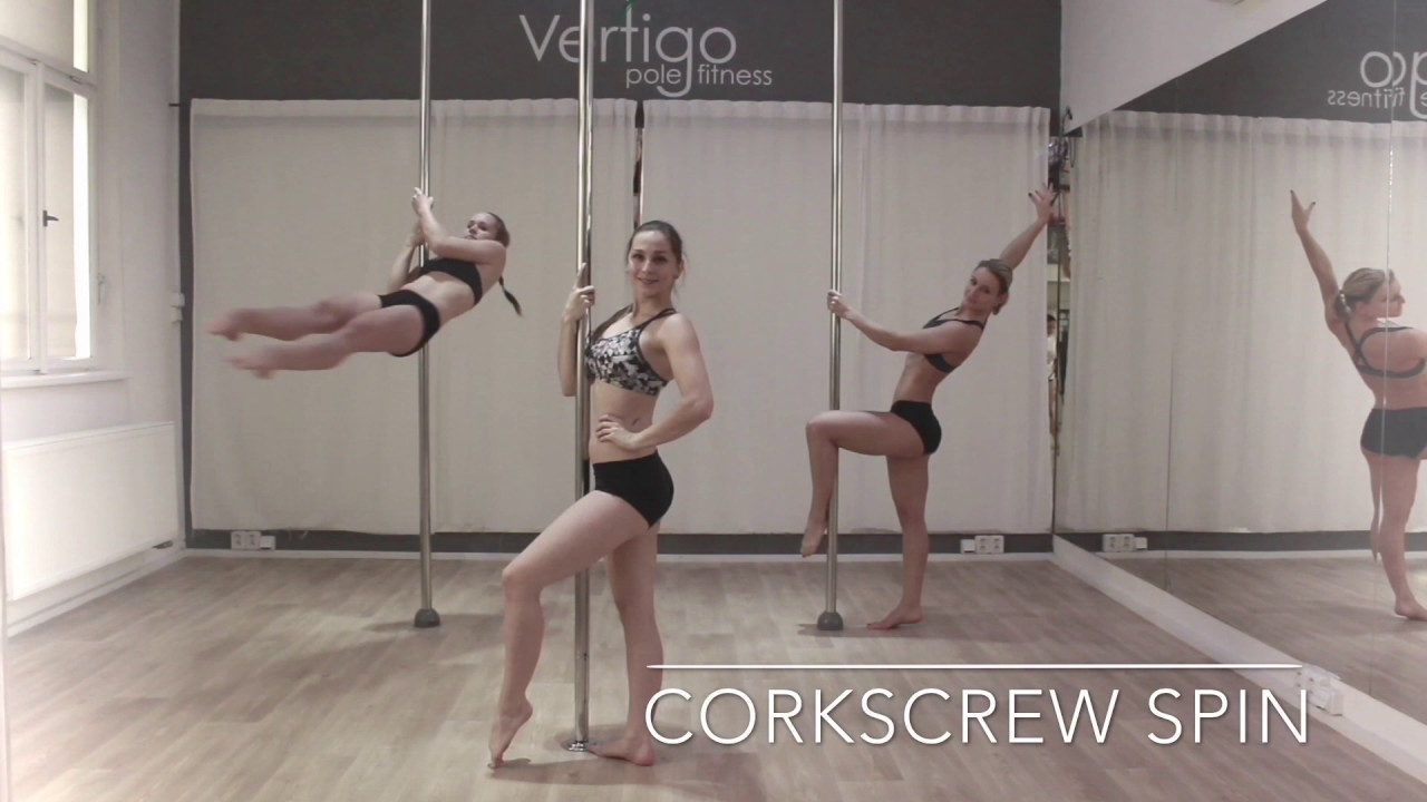 The Best Pole Dance Spins for Intermediate - YouTube