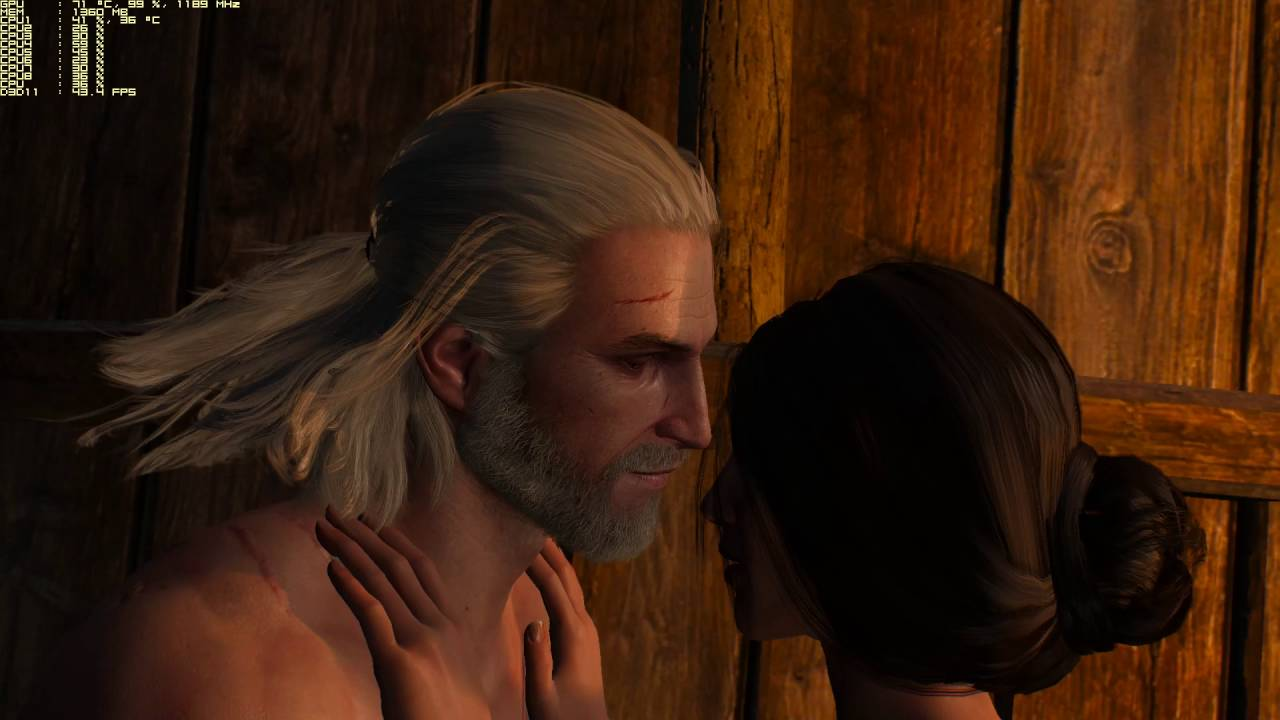 Ведьмак сексуальные сцены