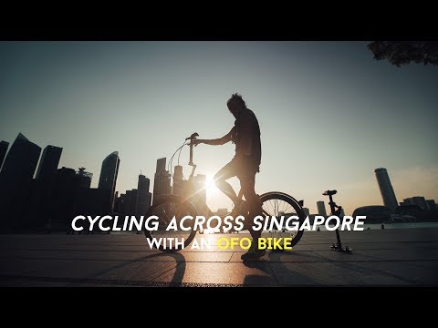 I cycled across Singapore with an ofo Bicycle