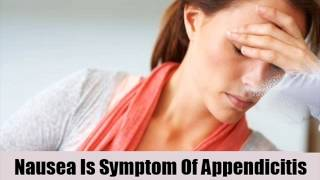 8 Early Symptom Of Appendicitis