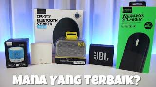 Review Bluetooth Speaker Murah Terbaik Indonesia dibawah 500rb - Berutz Store