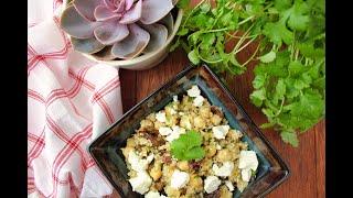 Quinoa With Salad - Best Quinoa Salad Recipe With Chickpeas, Raisins And Feta - Quinoa With Salad