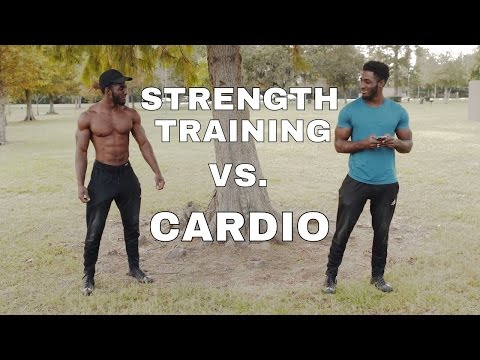 Cardio VS. Strength Training (Part 1) (THE BIGGEST FITNESS MYTH)