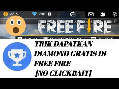 CARA TERBARU mendapatkan diamond di free fire dengan mudah ?! [NO CLICKBAIT]