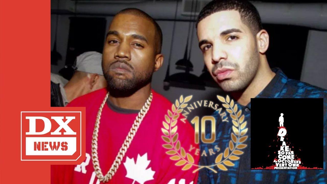 Drake Praises Kanye West As