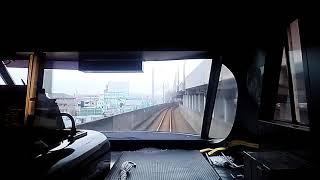 【前面展望】JR四国 予讃線 高松行き8000系特急いしづち22号 宇多津→坂出