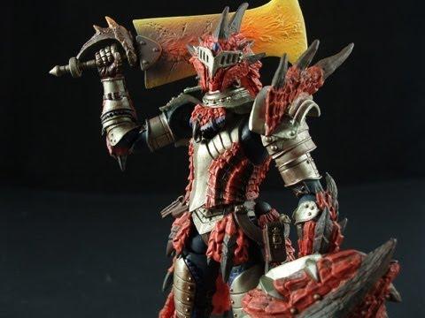 Speedleescustoms Revoltech Monster Hunter Rathalos Armor Youtube