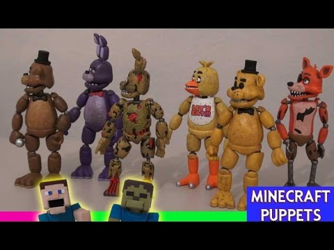 Five Nights at Freddy's FNAF FUNKO Articulated 5inch Action Figures Set Animated Unboxing Review