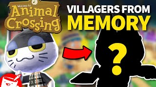 Artists Draw Animal Crossing Villagers (That They've Never Seen)
