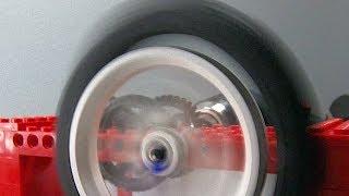 Spinning a Lego Wheel FAST